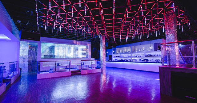 Inside look of Hue with bottle service
