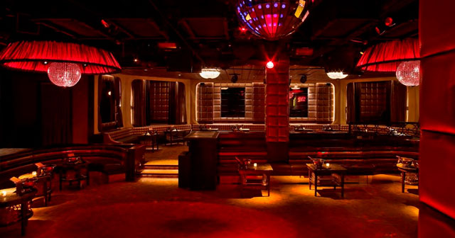 View of the interior of Lavo NY after getting free guest list