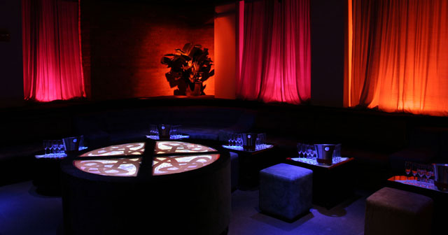 View of the interior of Pacha NY after buying tickets