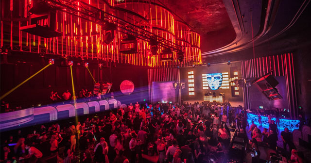 Inside look of Icon with bottle service