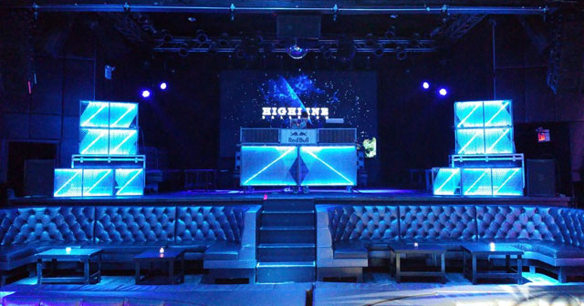 View of the interior of Highline Ballroom after getting free guest list