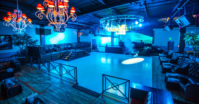 Inside look of Mansion with bottle service