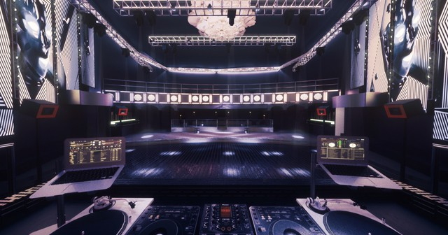 View of the interior of Avalon after getting free guest list