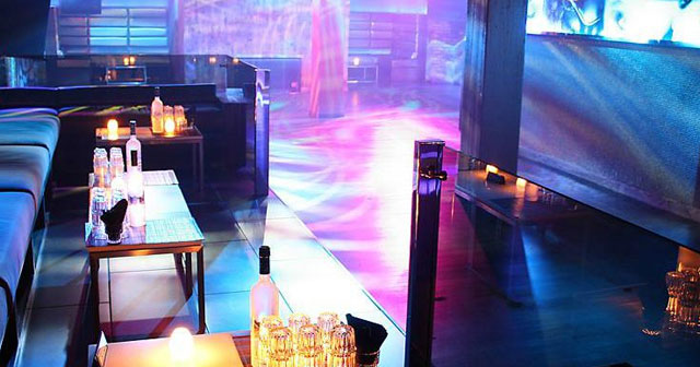 View of the interior of Spybar after getting free guest list