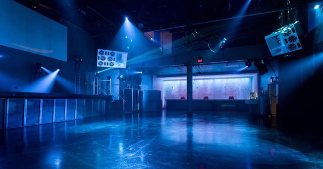 View of the interior of 1015 Folsom after getting free guest list