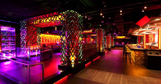 View of the interior of Infusion Lounge after getting free guest list