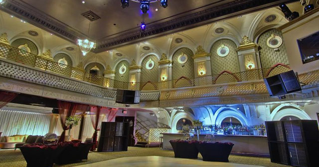 View of the interior of Ruby Skye
