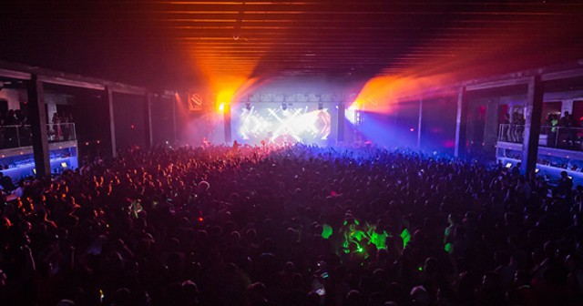 View of the interior of Echostage