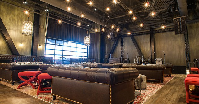 View of the interior of The Sayers Club
