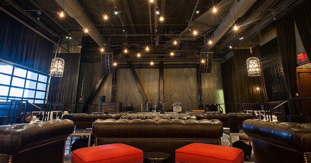 Inside look of The Sayers Club with bottle service