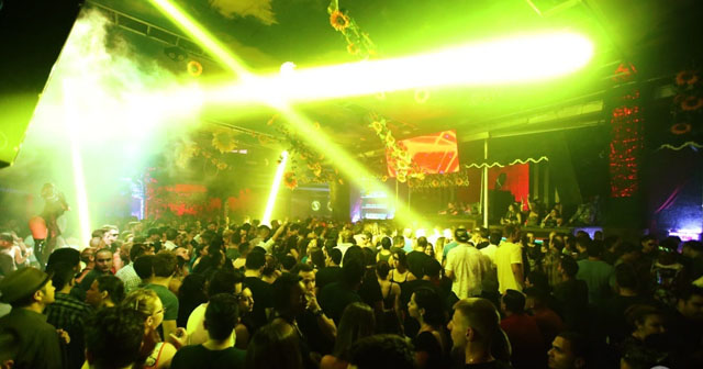 View of the interior of Space (Terrace) after getting free guest list