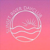 Sunset River Dayclub at Booby Trap logo