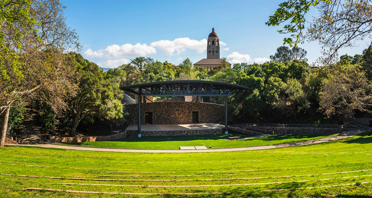 Frost Amphitheater at Stanford